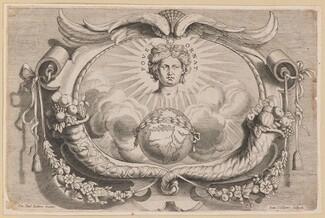 Printer's Device for Jan van Keerbergen: Vignette for Biblia Cum Glossa Ordinaria