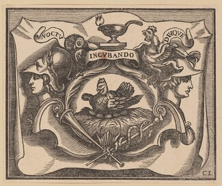 Vignette for the Title Page of C. Peregrino, Principes Hollandiae et Zelandiae