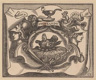 Vignette for the Title Page of C. Peregrino, Principes Hollandiae et Zelandiae