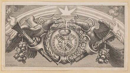 Vignette for Title Page of Balthasar Cordier, Catena Patrum Graecorum in Sanctum Ioannem