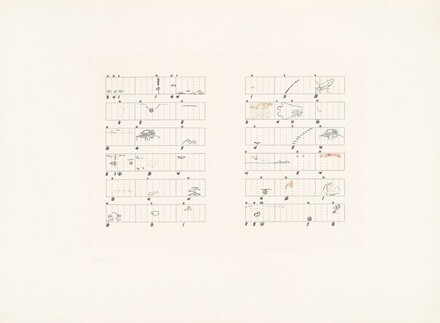 Score without Parts (40 Drawings by Thoreau): Twelve Haiku