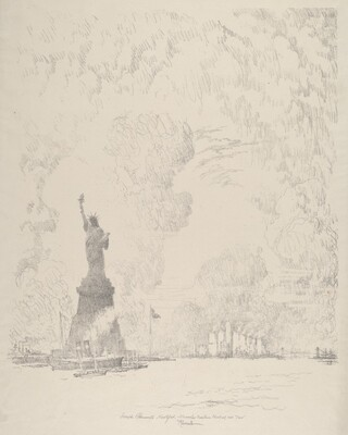 The Statue, New York Bay
