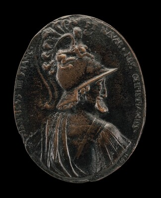 Henri IV, 1553-1610, King of France 1589, as Mars [obverse]