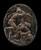 Mars Battling the Constellation Centaurus [reverse]
