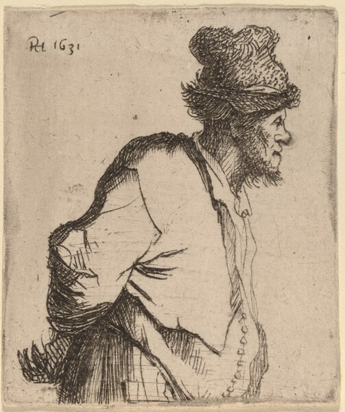 Peasant with His Hands behind His Back