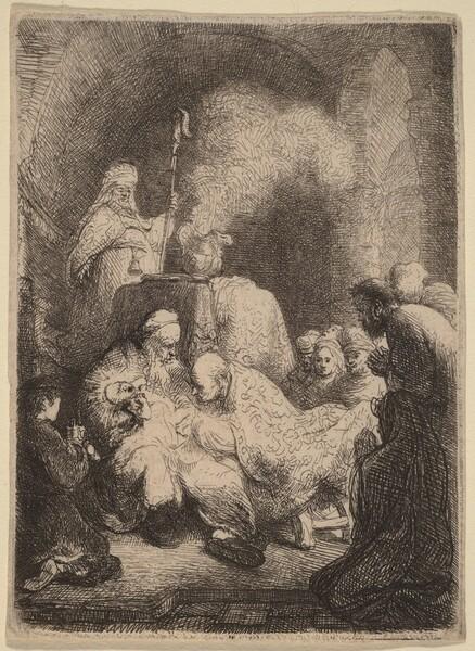 The Circumcision: Small Plate