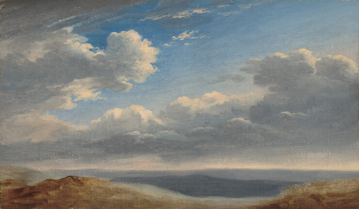 Pierre-Henri de Valenciennes, Study of Clouds over the Roman Campagna, c. 1782/1785