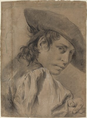A Young Man in a Broad Hat