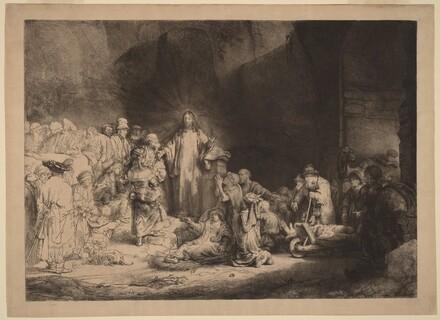 Christ Preaching (The Hundred Guilder Print)